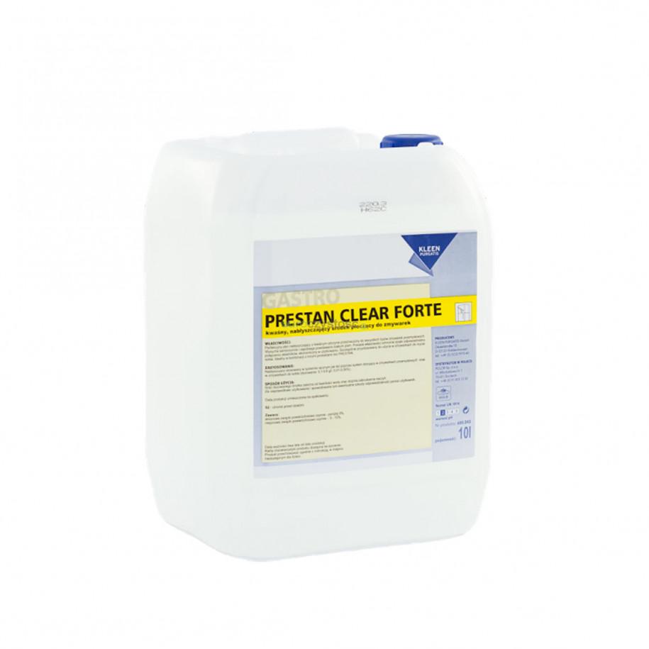 Kleen Prestan Clear Forte 10 L - płyn nabłyszczający
