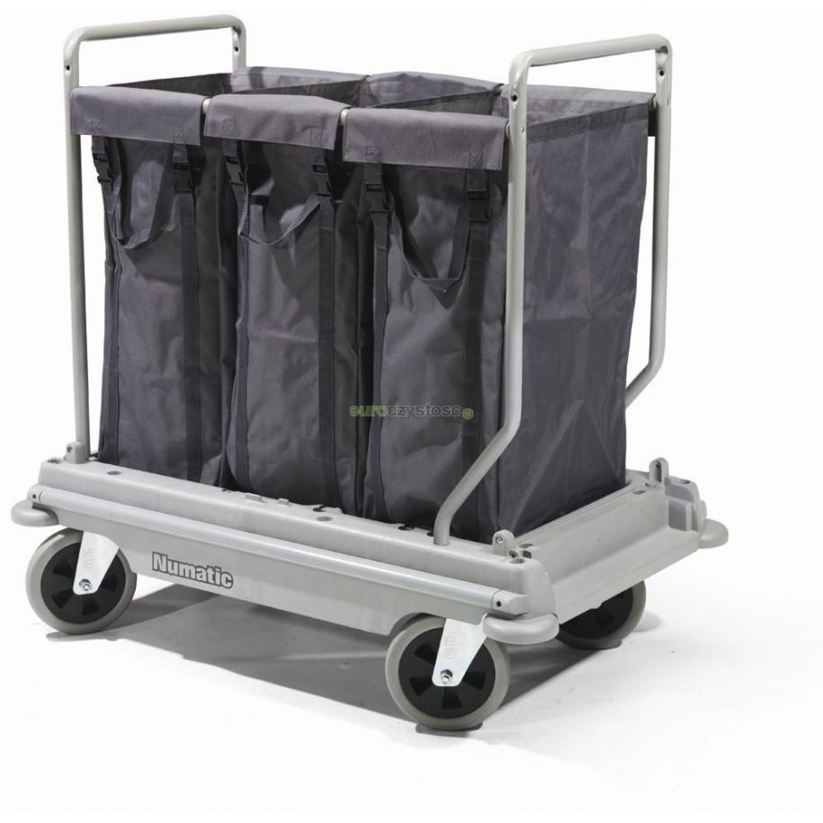Wózek hotelowy NB 3003 - wózek do segregacji