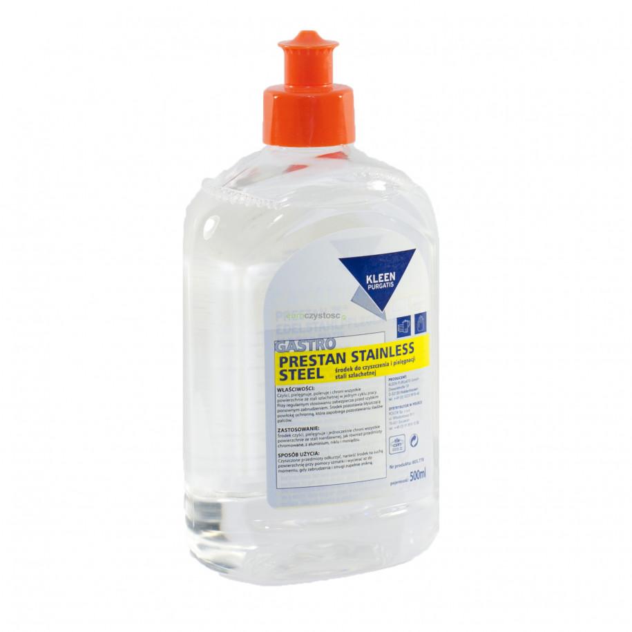 Prestan Stainless Stel 0,5 L - środek do pielęgnacji i ochrony powierzchni ze stali nierdzewnej