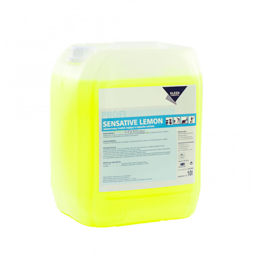 Kleen Sensative Lemon - uniwersalny środek czyszczący