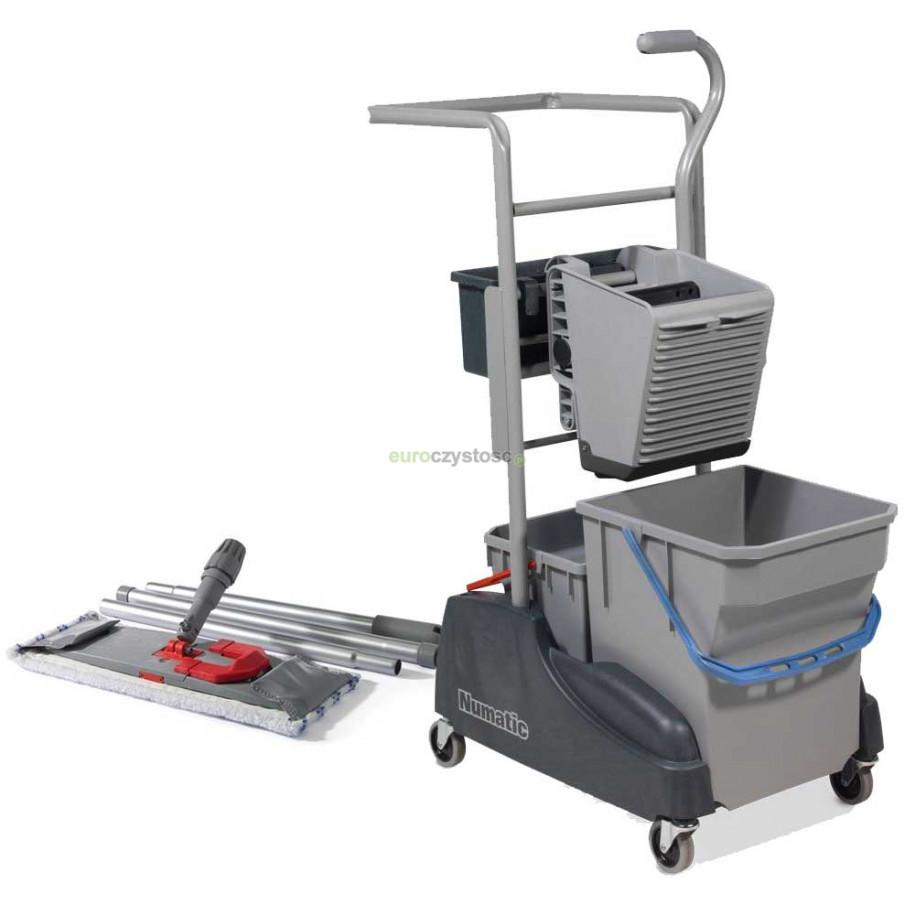 Zestaw wózek do sprzątania TM 2815G + mop Numatic