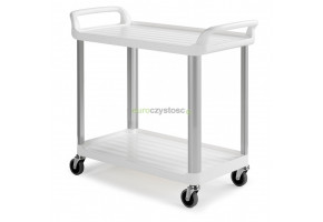 TTS wózek gastronomiczny - 2 półki