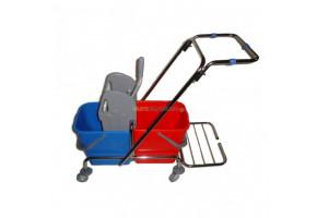 TTS 2x25 l - wózek do sprzątania z uchwytem na worek