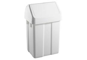 TTS kosz na śmieci z klapą uchylną ABS