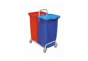 EURO stelaż na śmieci DUST 302 2 x 120 L - wózek do segregacji