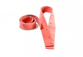 Czerwone gumy do ssaw aluminiowych