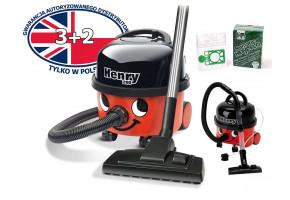 Numatic HVR 200-11 Henry + worki + zabawkowy Henry