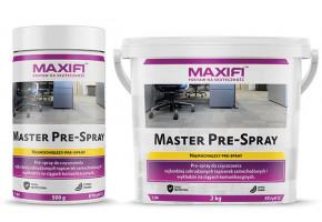 Maxifi Master Pre-Spray do czyszczenia mocno zabrudzonych wykładzin i tapicerek samochodowych