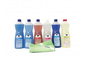 Zestaw profesjonalnych środków czyszczących Kleen - Basen
