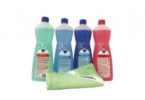 Zestaw profesjonalnych środków czyszczących Kleen - Sanitariaty