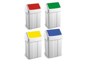 Pojemnik na śmieci z klapą ABS 50l