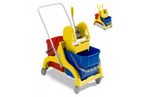 TTS NICK Wózek do sprzątania 2-wiaderkowy 2x15L lub 2x25 L