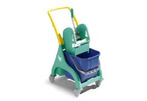 TTS NICK Wózek do sprzątania 1-wiaderkowy 15L lub 25L z uchwytem