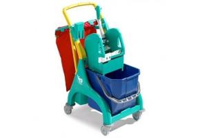 TTS NICK Plus 10 wózek do sprzątania 1-wiaderkowy 15L lub 25L