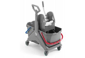 TTS Nickita wózek do sprzątania z wyciskarką szczękową TEC