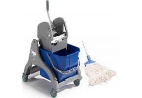 TTS wózek do sprzątania z mopem