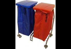 EURO Zibi 2 x 70 l - wózek do segregacji