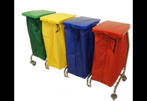 EURO Zibi 4 x 70 l - wózek do segregacji