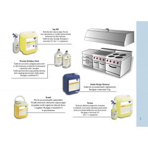 Granit 2 x 5 L + spryskiwacz - płyn do czyszczenia grilla i piekarników