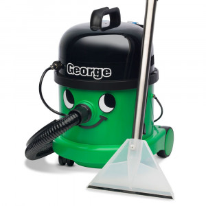 Numatic George GVE 370 + zabawkowy Henry + 2 l płynu