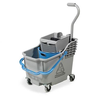 Wózek do mopa jednowiaderkowy